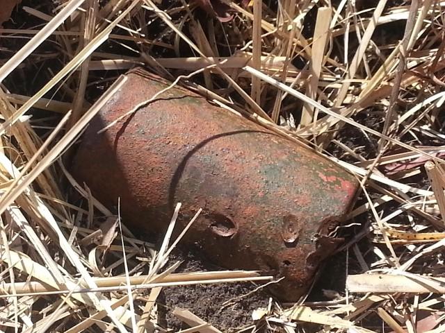 CBPD DMのビット痕跡を残した69式対人地雷