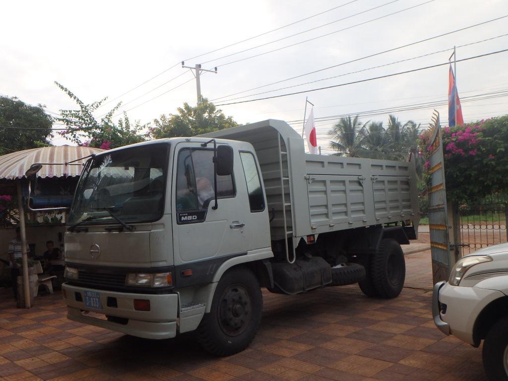 SVC 新しく納車されたダンプトラック