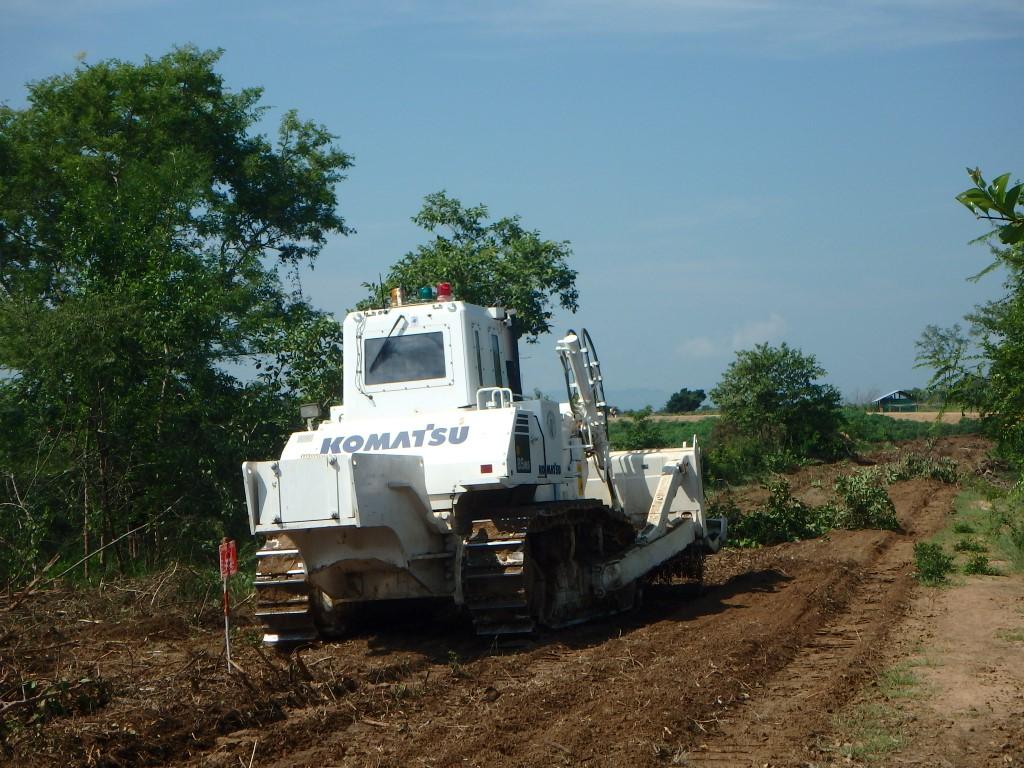 CBPD Cブロック DMによる地雷処理