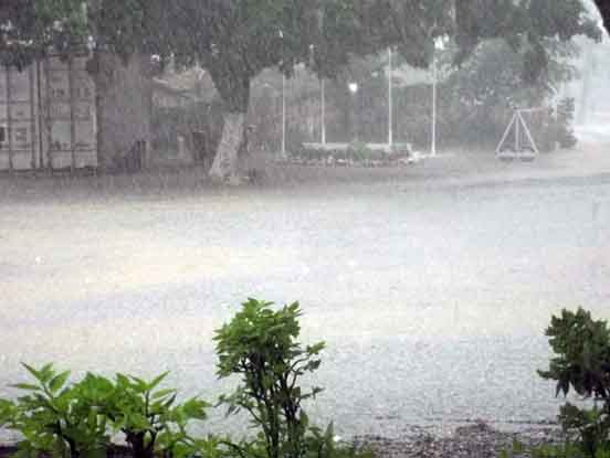 ダンデ川洪水