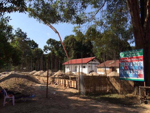 2015年12月29日現座の宿舎建築状況