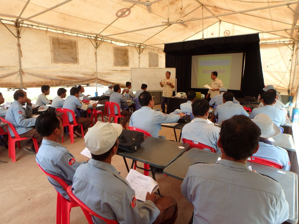 CBPD 機動小隊に対する物品管理教育 2