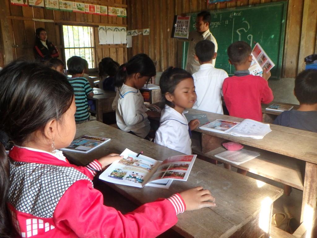 CBPD ドンミエン第2小学校における危険回避教育 1