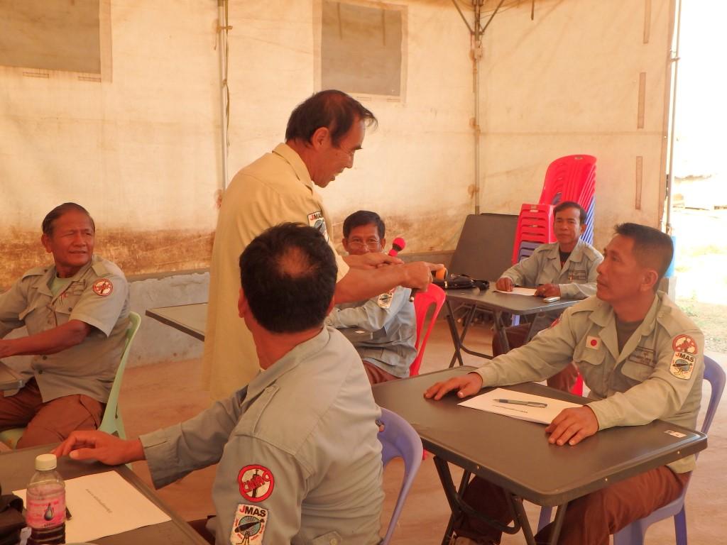 機動小隊指揮官を対象とした品質管理教育 1