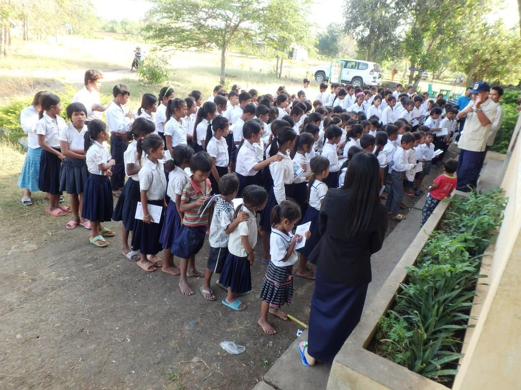 CBPD チャンオンカン小学校児童185名に危険回避教育を実施