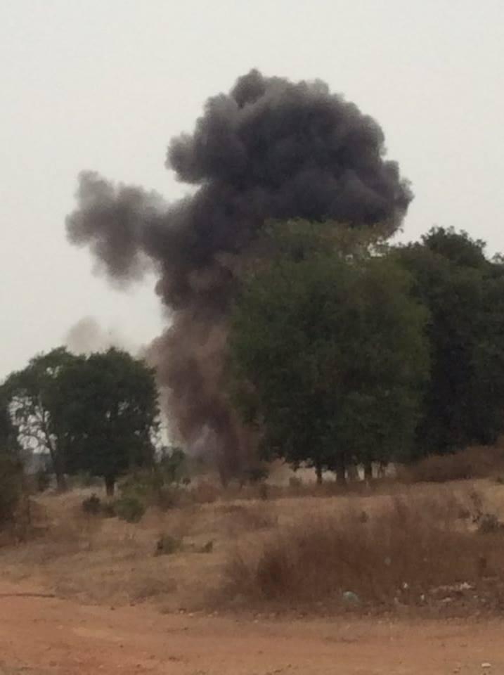 CBPD 対戦車地雷を爆破処理した瞬間